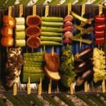 Robata de vegetais - NAKOMBI