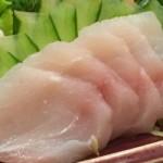 Sashimi de peixe branco - NAKOMBI