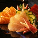 Sashimi simples - NAKOMBI