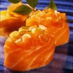 Sushi dupla de gunka de salmao- NAKOMBI
