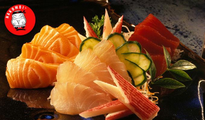 9 combinações com sashimi - NAKOMBI